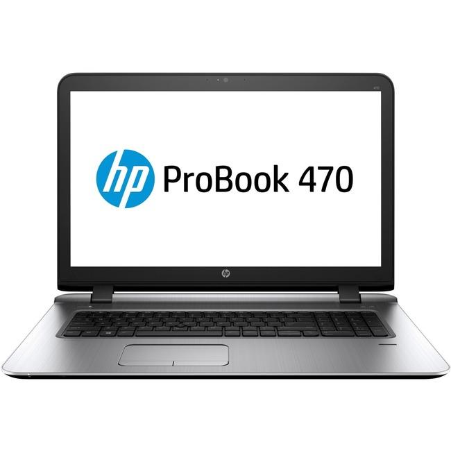 "HP ProBook 470 G3 17.3"" Notebook   Intel Core i5 (6th Gen) i5-6200U Dual-core (2 Core) 2.30 GHz   8 GB DDR4 SDRAM   500 GB HDD   Windows 7 Professional 64-bit (English) upgradable to Windows 10 Pro   1600 x 900"