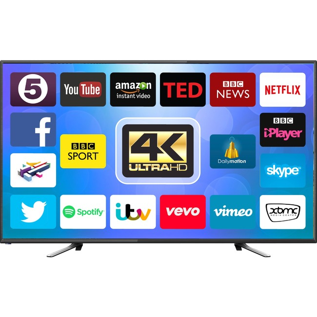 50 4K Uhd Smart Android Tv - Orchid