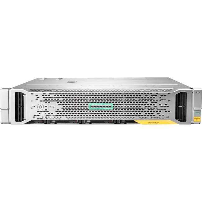 HPE StoreVirtual 3200 8-port 1GbE iSCSI SFF Storage