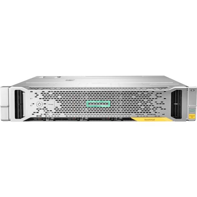 HPE StoreVirtual 3200 4-port 16Gb Fibre Channel LFF Storage