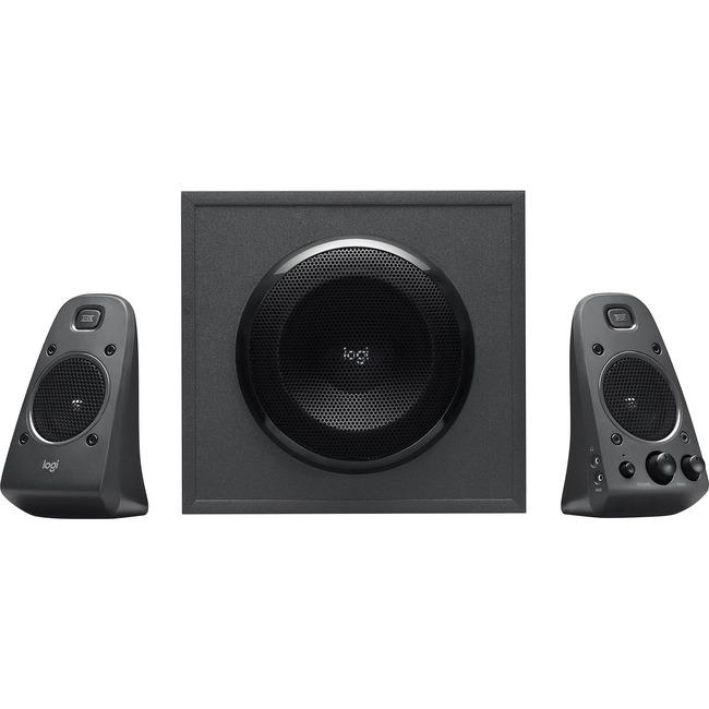 Logitech Z625 2.1 Speaker System - 200 W RMS - Black