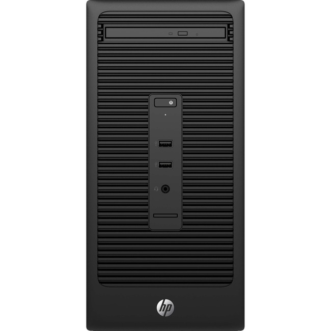 HP Business Desktop 280 G2 Desktop Computer - Intel Pentium G4400 3.30 GHz - Micro Tower