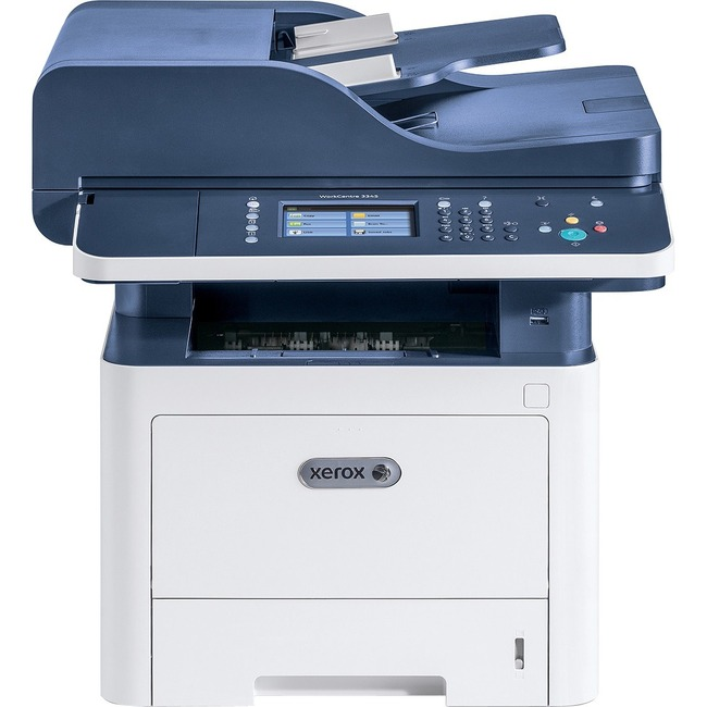 Xerox WorkCentre 3345/DNI Laser Multifunction Printer - Monochrome - Plain Paper Print - Desktop