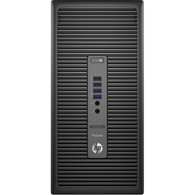 HP Business Desktop ProDesk 600 G2 Desktop Computer - Intel Core i3 (6th Gen) i3-6100 3.70 GHz - 8 GB DDR4 SDRAM - 256 G