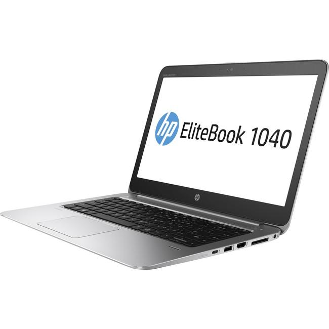 """HP EliteBook 1040 G3 14"""" Notebook - Intel Core i7 (6th Gen) i7-6600U Dual-core (2 Core) 2.60 GHz - 16 GB DDR4 SDRAM - 25"""