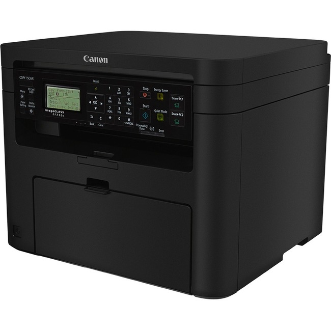 Canon imageCLASS MF232w Laser Multifunction Printer - Monochrome - Plain Paper Print - Desktop