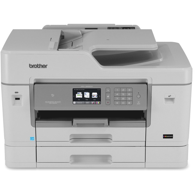 Brother Business Smart MFC-J6935DW Inkjet Multifunction Printer - Color - Plain Paper Print - Desktop