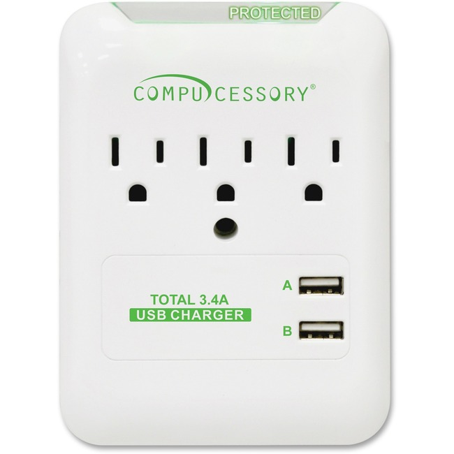 Compucessory 3-Outlet Surge Protector