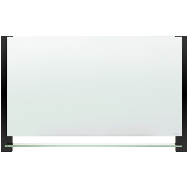 Quartet® Evoque™ Magnetic Glass Dry-Erase Boards with Invisible Mount
