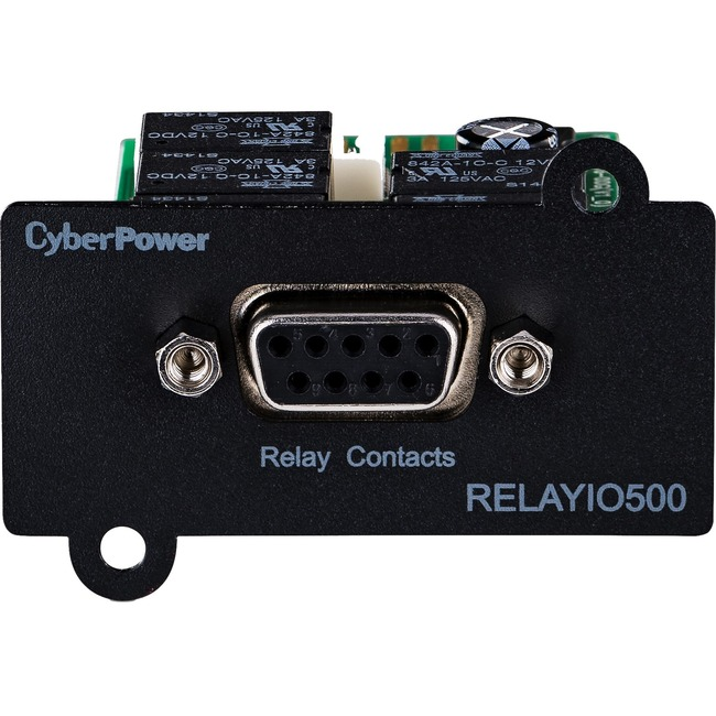 CYBER POWER SYSTEM - DT SB UPS RELAY IO MANAGEMENT CARD DB9 5-OUT 1-IN CONTACTS 3YR WTY