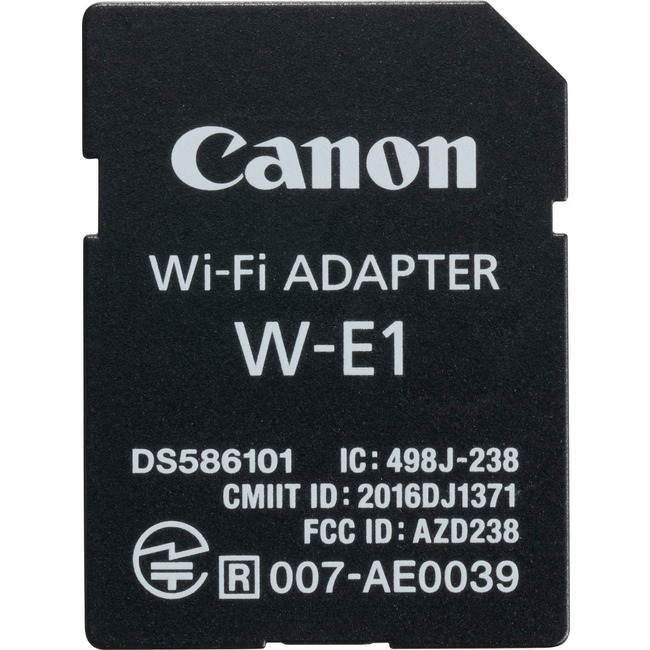 Canon W-E1 IEEE 802.11n - Wi-Fi Adapter for Camera