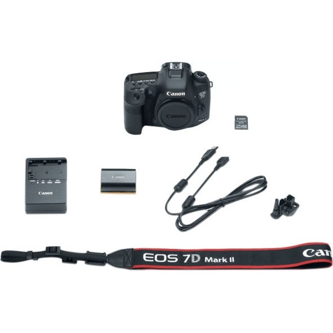 Canon EOS 7D Mark II 20.2 Megapixel Digital SLR Camera Body Only