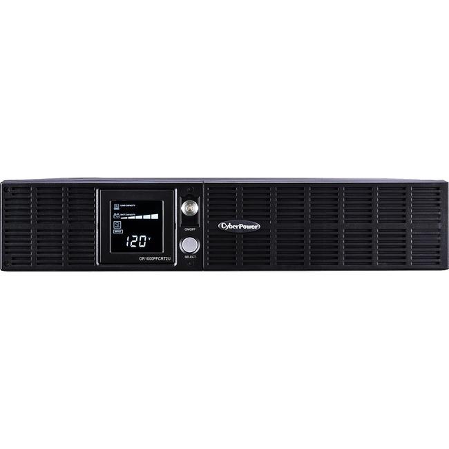 CYBER POWER SYSTEM - DT SB 1000VA/700W RACK/TOWER UPS 8OUTLET SINE WAVE AVR LCD PFC
