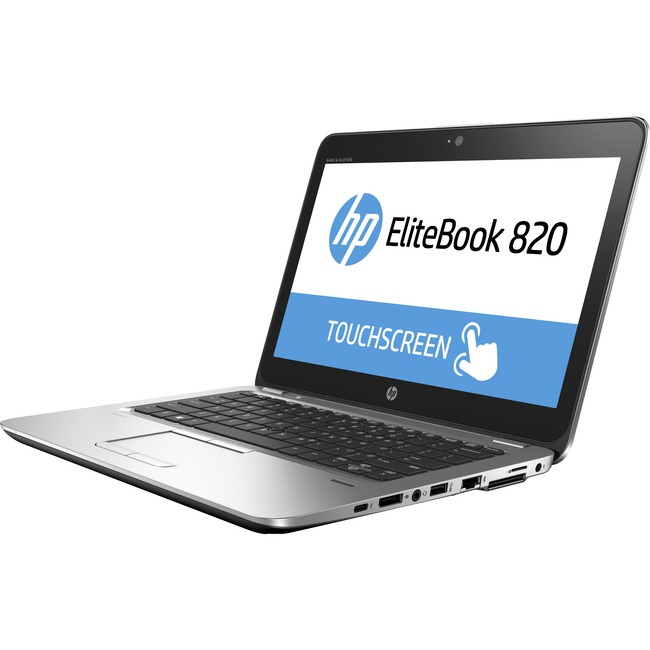 "HP EliteBook 820 G3 12.5"" 16:9 Notebook - 1366 x 768 - Intel Core i5 (6th Gen) i5-6200U Dual-core (2 Core) 2.30 GHz - 8"
