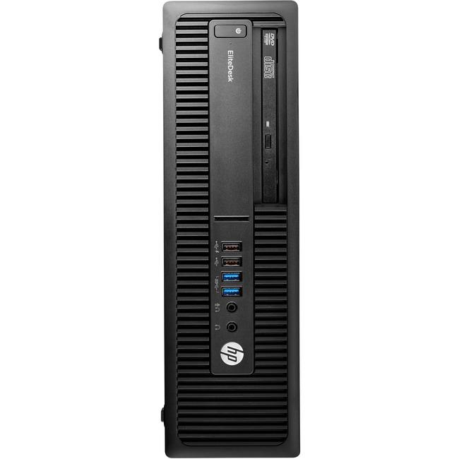 HP EliteDesk 705 G2 Desktop Computer - AMD A-Series A6-9500 3.50 GHz - 8 GB DDR4 SDRAM - 500 GB HDD - Windows 10 Pro 64-