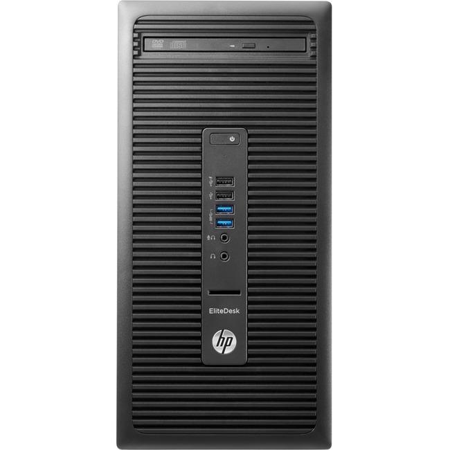 HP EliteDesk 705 G2 Desktop Computer - AMD A-Series A10-9700 3.50 GHz - 8 GB DDR4 SDRAM - 1 TB HDD - Windows 10 Pro 64-b