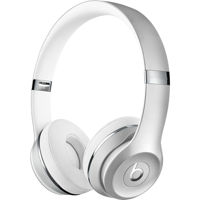Beats Solo3 Wired/Wireless Bluetooth Silver Headphones