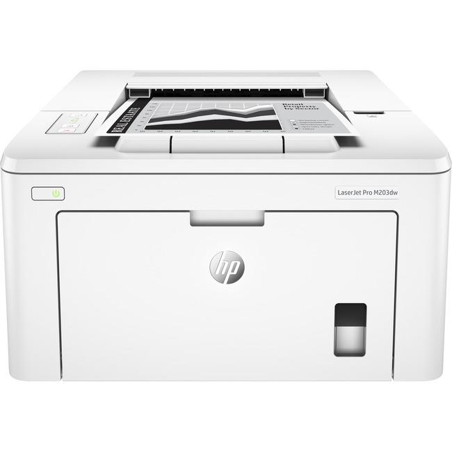 HP LaserJet Pro M203dw Laser Printer - Monochrome - Plain Paper Print - Desktop - Wireless LAN