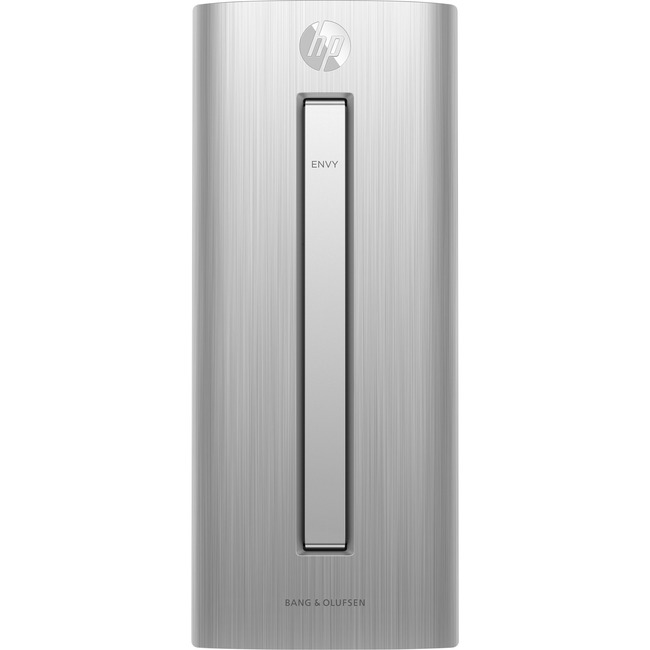 HP Envy 750-400 750-420 Desktop Computer | Intel Core i7 (6th Gen) i7-6700 3.40 GHz | 8 GB DDR4 SDRAM | 1 TB HDD | 256 GB SSD | Windows 10 Home 64-bit | Tower | Natural Silver