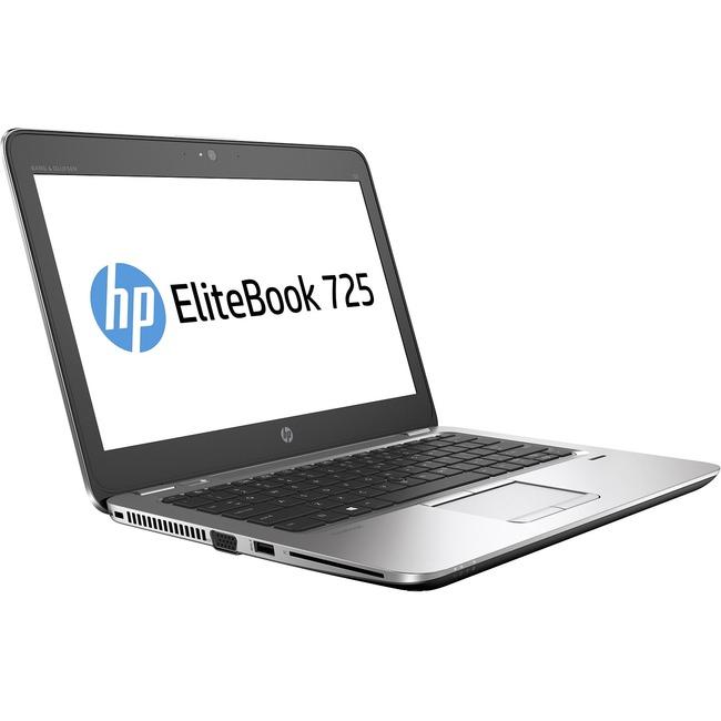 "HP EliteBook 725 G3 12.5"" Notebook - AMD A-Series A10-8700B Quad-core (4 Core) 1.80 GHz - 8 GB DDR3L SDRAM - 256 GB SSD"