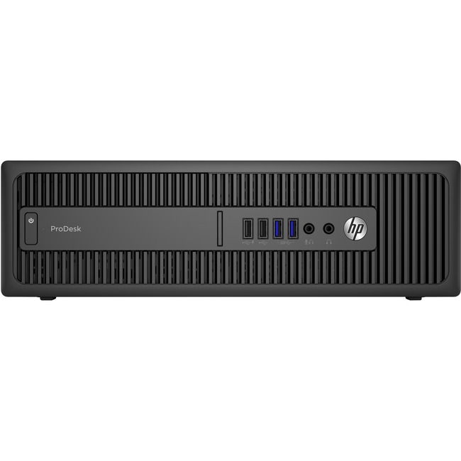 HP Business Desktop ProDesk 600 G2 Desktop Computer - Intel Core i7 (6th Gen) i7-6700 3.40 GHz - 16 GB DDR4 SDRAM - 256