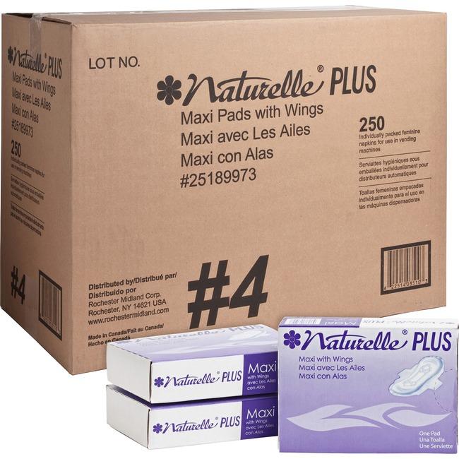 Impact Products Naturelle Plus Sanitary Napkins