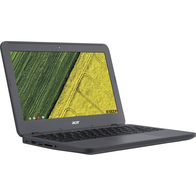 "Acer C731-C8VE 11.6"" LCD Chromebook - Intel Celeron N3060 Dual-core (2 Core) 1.60 GHz - 4 GB LPDDR3 - 16 GB Flash Memory"