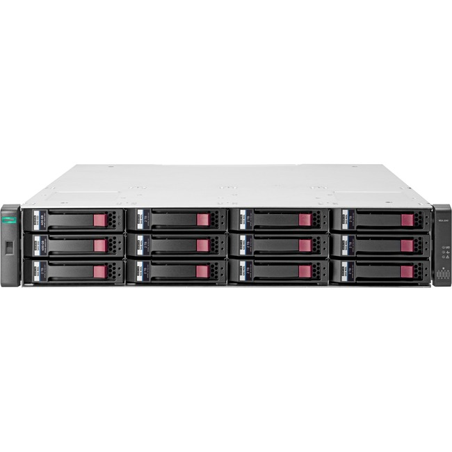 HP 2042 DAS Array - 2 x SSD Installed - 800 GB Installed SSD Capacity