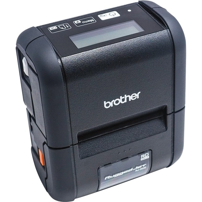 Brother RuggedJet RJ-2030 Direct Thermal Printer - Monochrome - Portable - Receipt Print