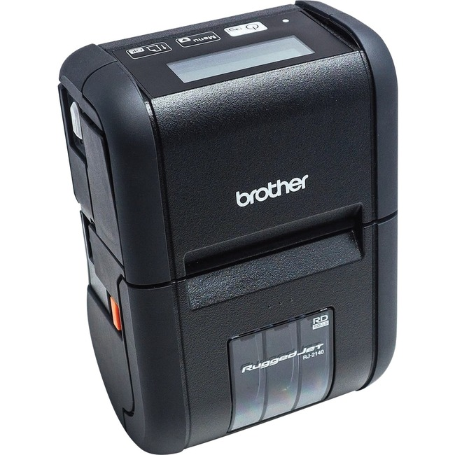 Brother RuggedJet RJ-2140 Direct Thermal Printer - Monochrome - Portable - Label/Receipt Print