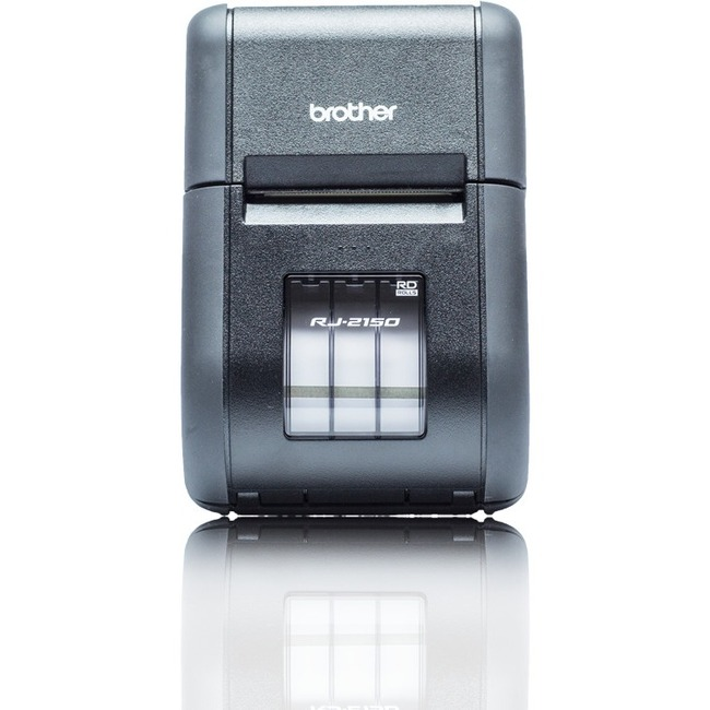 Brother RuggedJet RJ-2150 Direct Thermal Printer - Monochrome - Portable - Label/Receipt Print