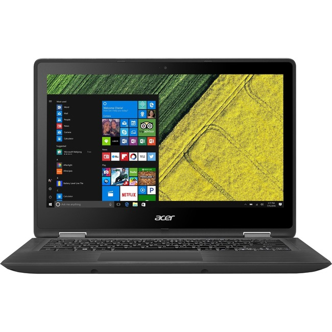 "Acer Spin SP513-51-34UA 13.3"" LCD 16:9 Notebook - 1920 x 1080 Touchscreen - In-plane Switching (IPS) Technology - Intel"