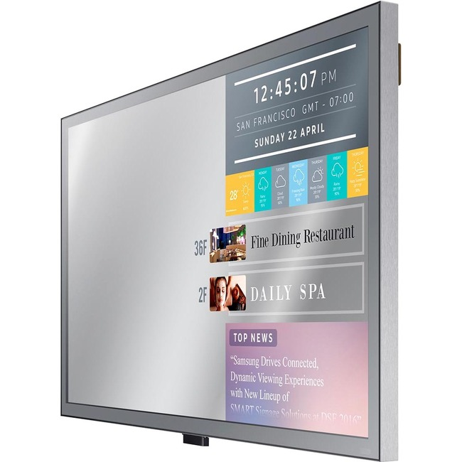 SAMSUNG - DIGITAL SIGNAGE ML32E 32IN MIRROR DISPLAY 1920 X