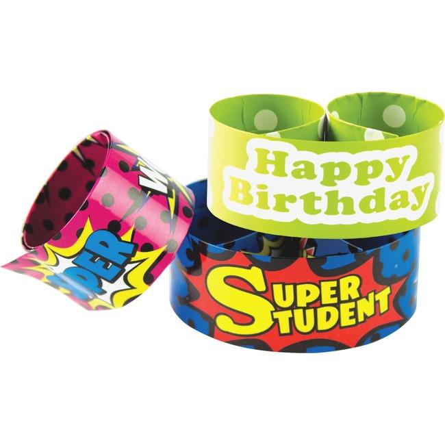 Teacher Created Resources Slap Bracelet Assortment