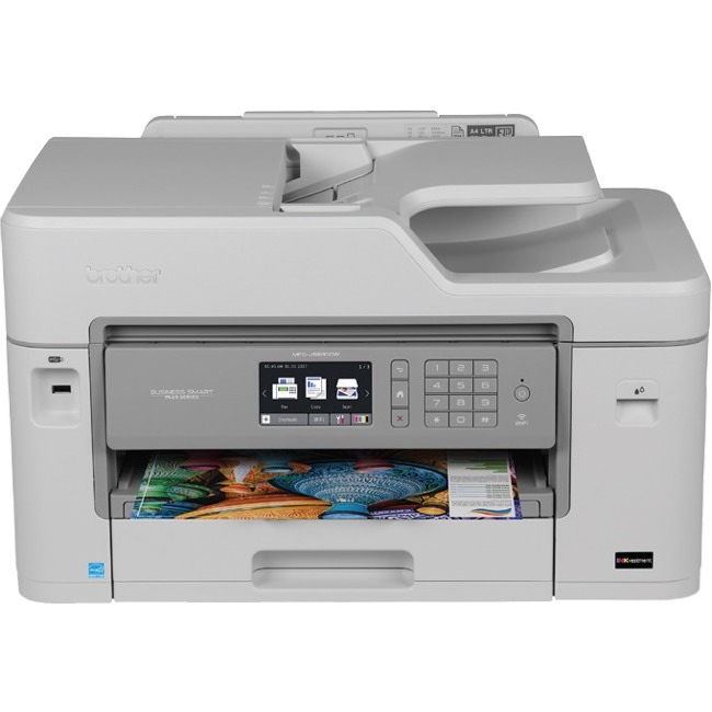 Brother Business Smart MFC-J5830DW XL Inkjet Multifunction Printer - Color - Plain Paper Print - Desktop