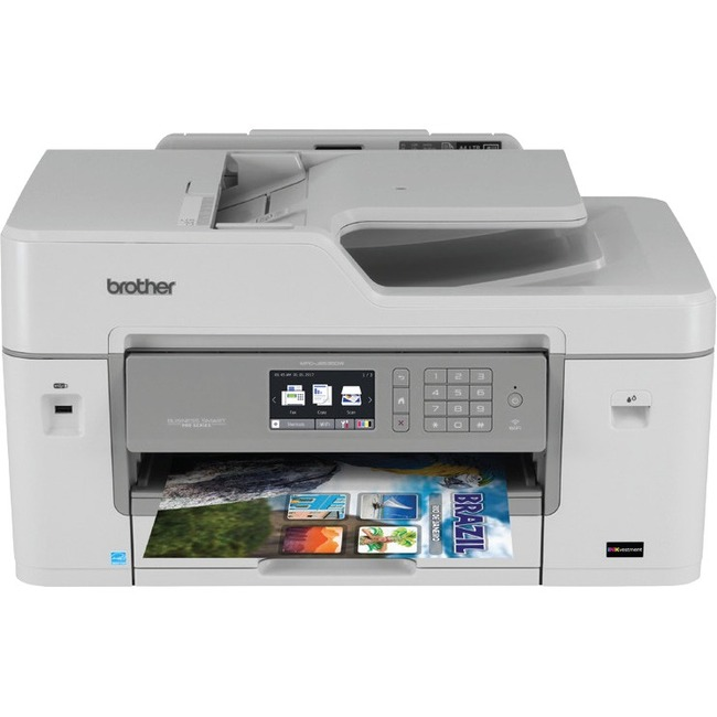 Brother MFC-J6535DW XL Inkjet Multifunction Printer - Color - Plain Paper Print - Desktop