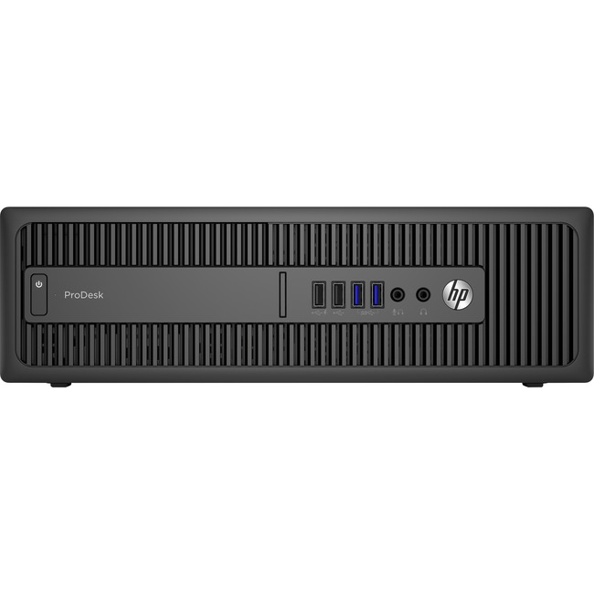 HP Business Desktop ProDesk 600 G2 Desktop Computer - Intel Pentium G4400T 2.90 GHz - 8 GB DDR4 SDRAM - Small Form Facto