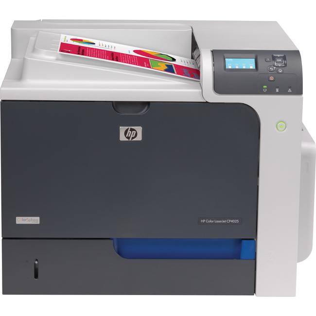 HP LaserJet CP4025N Laser Printer - Colour - Plain Paper Print - Desktop