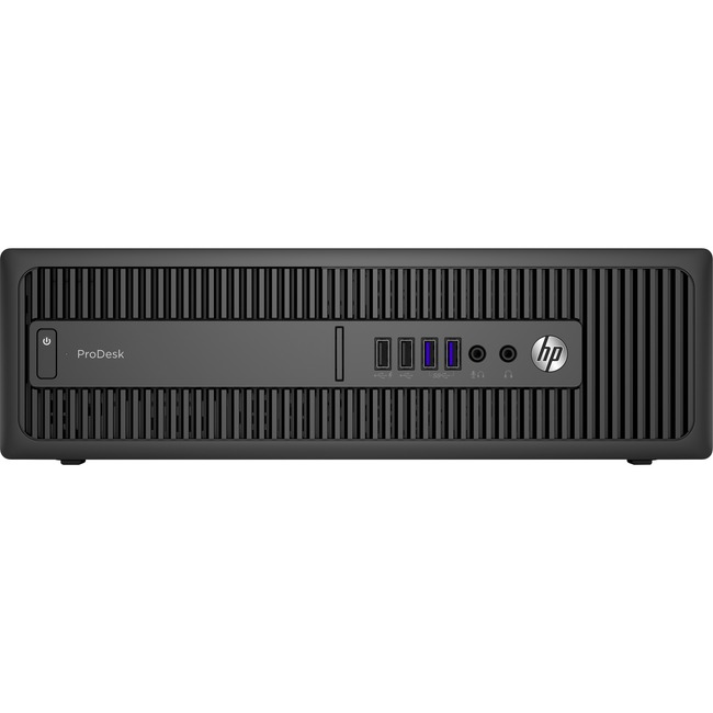 HP Business Desktop ProDesk 600 G2 Desktop Computer - Intel Core i7 (6th Gen) i7-6700 3.40 GHz - 16 GB DDR4 SDRAM - Smal