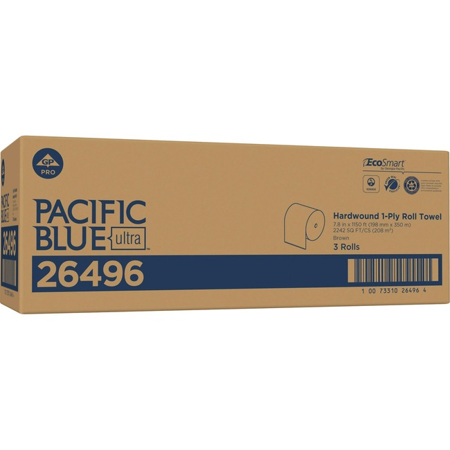 Pacific Blue Ultra 8Ó High-Capacity Recycled Paper Towel Roll by GP PRO