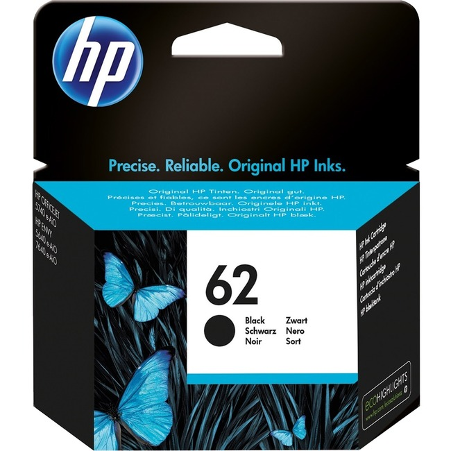 HP 62 Ink Cartridge - Black