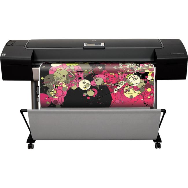 HP Designjet Z3200PS PostScript Inkjet Large Format Printer - 1118 mm 44.02inch Print Width - Colour - 12 Colors - 120 Second Color Speed - 2400 x 1200 dpi - 256 MB
