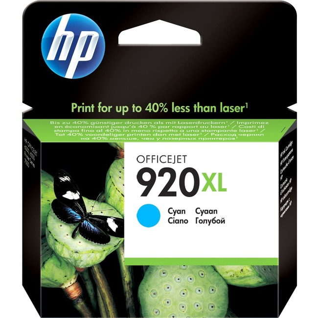 HP No. 920 XL Ink Cartridge - Cyan