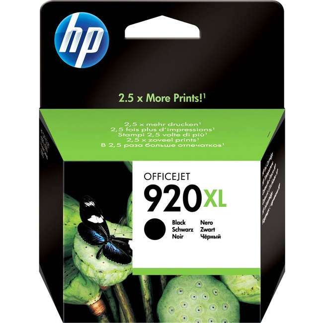 HP No. 920 XL Ink Cartridge - Black