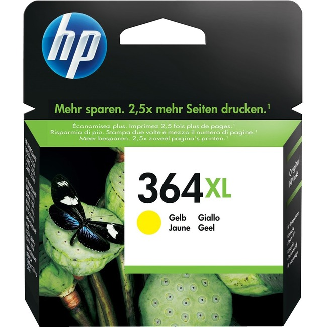 HP No. 364XL Ink Cartridge - Yellow