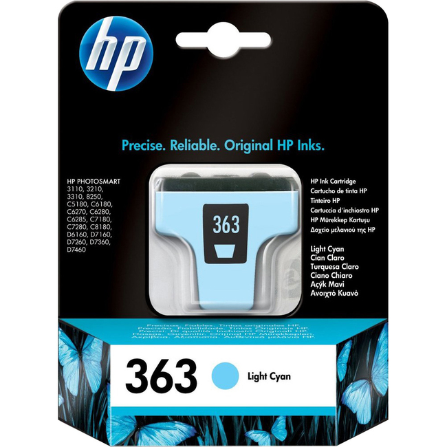 HP No.363 Ink Cartridge - Light Cyan