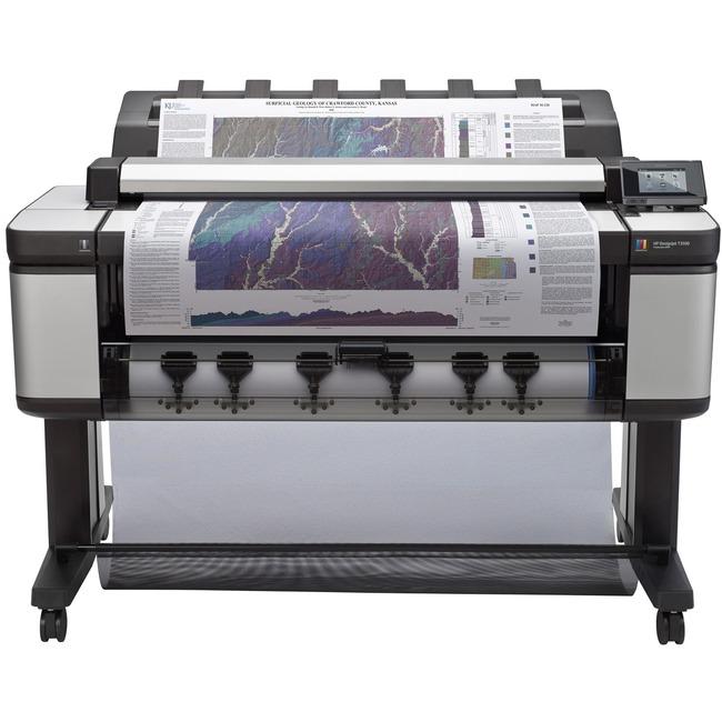 """HP Designjet T3500 Inkjet Large Format Printer - 36"""" Print Width - Color"""