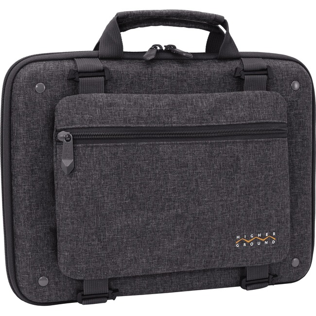 """Higher Ground Shuttle 3.0 Carrying Case for 14"""" Notebook - Gray"""