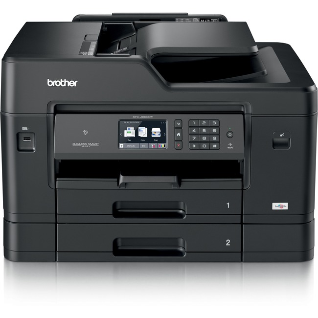 Brother Business Smart MFC MFC-J6930DW Inkjet Multifunction Printer - Colour - Copier/Fax/Printer/Scanner - 35 ppm Mono/27 ppm Color Print - 4800 x 1200 dpi Print -