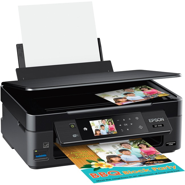 Epson Expression Home XP-440 Inkjet Multifunction Printer - Color